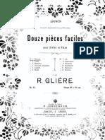 Reinhold Gliere Op. 45 Violin Piano