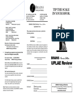 UPLAE Review Brochure 2014