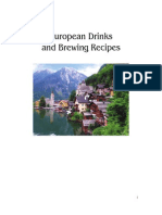 European Brewing and Drink Recipes