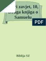 Stari Zavjet, 10, Druga Knjiga o Samuelu