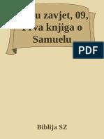 Staru Zavjet, 09, Prva Knjiga o Samuelu