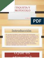 Etiqueta y Protocolo (Linda)