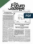 The Forum Gazette Vol. 2 No. 7 April 5-19, 1987