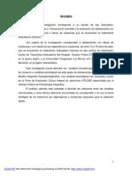 Descripcion de Las Variables Psicológicas en un Grupo de Adolescentes en Tratamiento Por Consumo de Sustancias