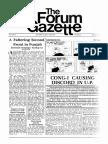 The Forum Gazette Vol. 2 No. 8 April 20-May 4, 1987