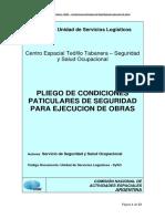 LP 07-13 Pliego de Normas Generales de Cumplimiento Para Proveedores