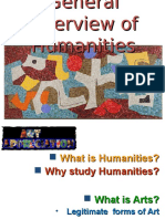 Overview of Humanities