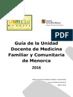 1 Guia 2016 Ud Mfyc de Menorca