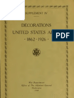 (1937) American Decorations (Number 4)
