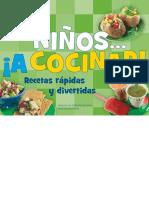 Ninos a Cocinar - Recetas Rapidas y Divertidas