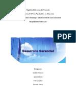 DESARROLLO GERENCIAL