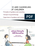 Guidance and Counseling