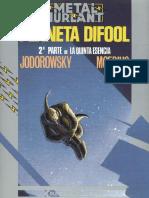 [Comic, Español] - [Jodorowsky-moebius] - [Incal 06] - Planeta Difool