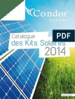 Catalogue Condor PV solaire