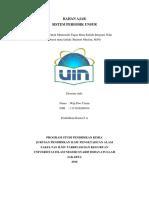 Bahan Ajar Sistem Periodik Unsur Terintegrasi Nilai