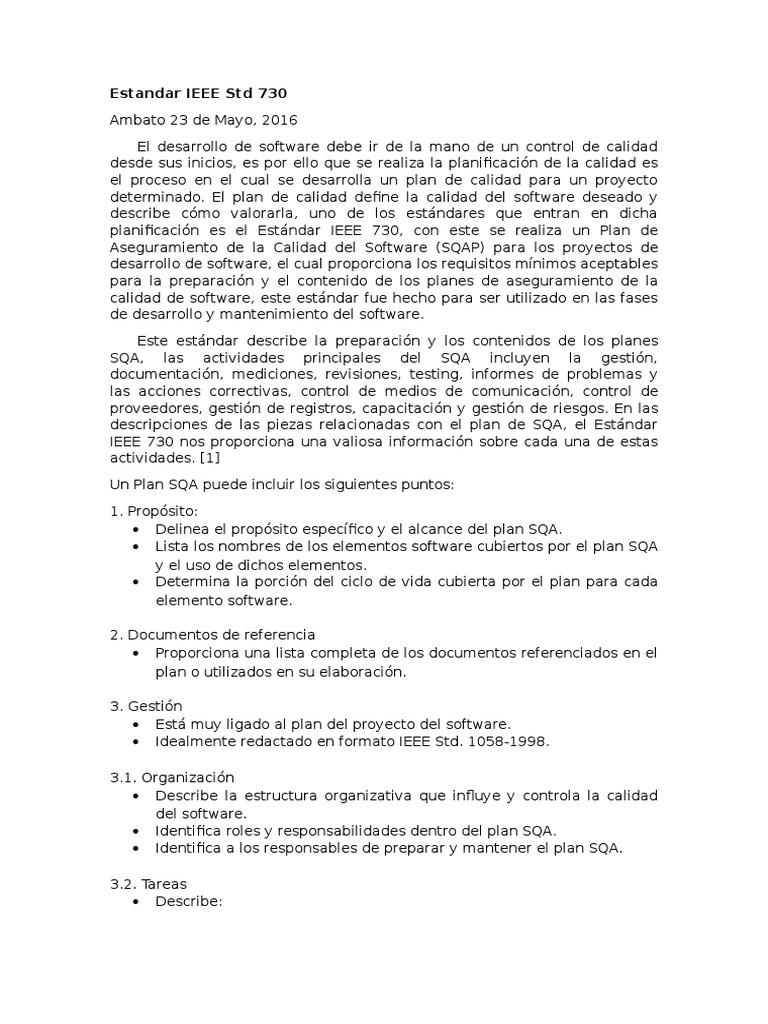 Perfecto Ieee Plantilla Srs Estándar Ideas - Colección De Plantillas ...