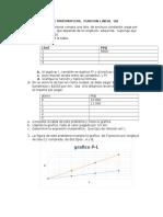Taller Funcion Lineal
