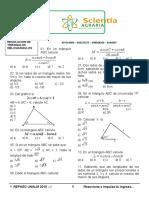 Sem11 - Resolución de Triángulos Oblicuángulos