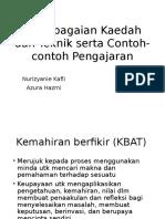 Kepelbagaian Kaedah dan Teknik.pptx