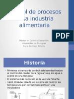 Control de Procesos en la Industria Alimentaria