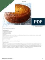 Receta Torta de Pan