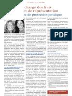 La prise en charge des frais de Conseil et de representation par l'assurance de protection juridique (avec Me Elisabeth Granier-Zarrabi, mai 2008)