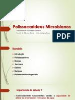 Polissacarídeos microbianos