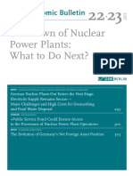 Nuclear Scenario in Germany