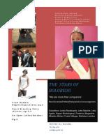 The Stars of Bolobedu Magazine by Karabo Junior Sekgale