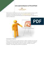 Como Fazer Uma Apresentação No PowerPoint