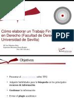 Como Elaborar TFG Derecho