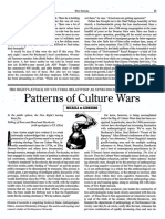 Di Leonardo, Micaela, Patterns of Culture Wars,