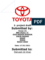 1st Project Draft