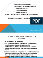 CAPITULO III.- CUBICACION DE MOVIMIENTO DE TIERRAS.ppt