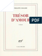 Sollers, Philippe - Tresor D'Amour(2011).epub