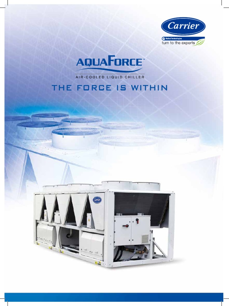 carrier chiller 30xa air conditioning gas compressor rh pt scribd com