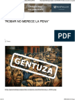 """Robar No Merece La Pena"" _ Gazzetta Del Apocalipsis"