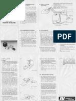 JR 100 Gyro Manual