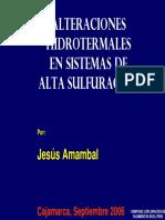 Alteraciones Hidrotermales en Sistemas HS-JA2006