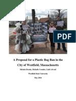westfieldbagbanprojectreport  2