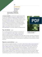 Bosque Esclerófilo - Wikipedia, La Enciclopedia Libre