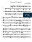 Traumerei for String Quartet