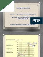 Tenperatura-denbora grafikoak