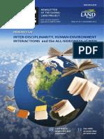 Inter Disciplinarity, Human Environment Interactions