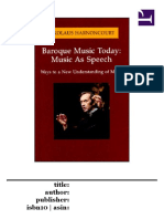 Music as Speech