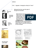 Powerpoint on the Evolution of the Brain