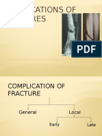 Complications of Fractures