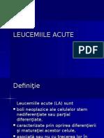Leucemiile Acute