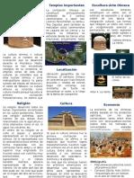 Trípticos Del Desarrollo de Los Olmecas