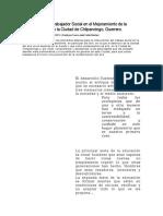 Intervención Del Trabajador Social en El Mejoramiento de La Calidad Del Aire en La Ciudad de Chilpancingo